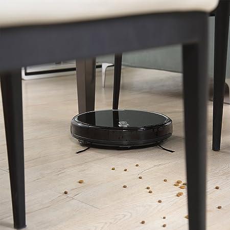 iLife Robot aspirador A8, nueva versión con una navegación panorámica inteligente, eficiencia de limpieza mejorada, una asistencia de i-voice.