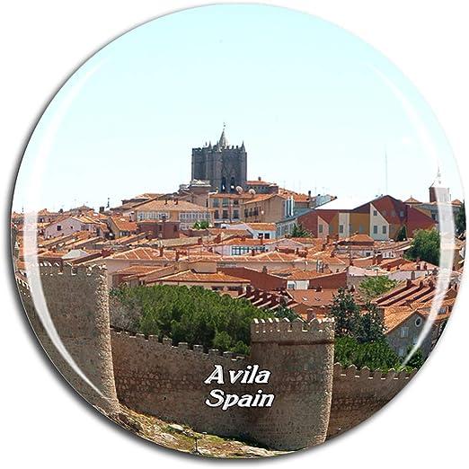 Weekino España Las murallas de Ávila Imán de Nevera 3D de ...