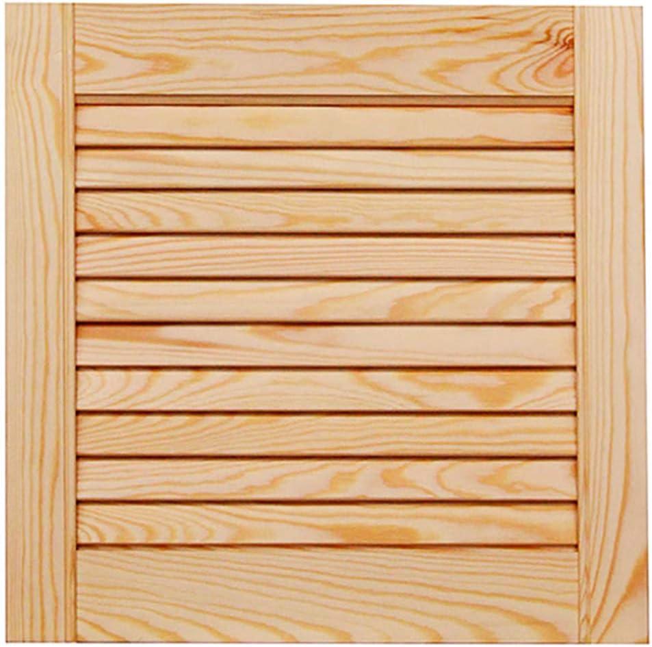 Lamellent/ür Holzt/ür natur 140,6 x 39,4 cm mit offenen Lamellen f/ür Regale M/öbel Schr/änke Kiefer Holz unbehandelt