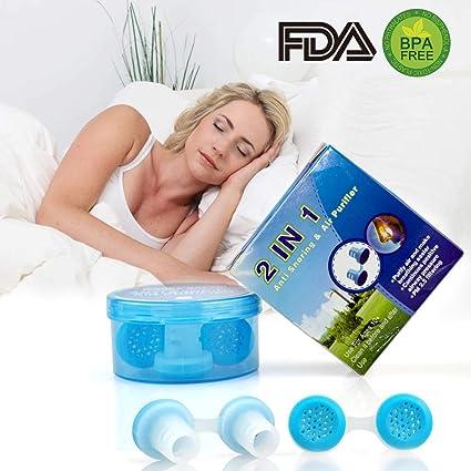 Dispositivos Anti Ronquido,Dilatador Nasal Purificador de Aire Solución Premium Ronquidos Alivia Apnea Del Sueño