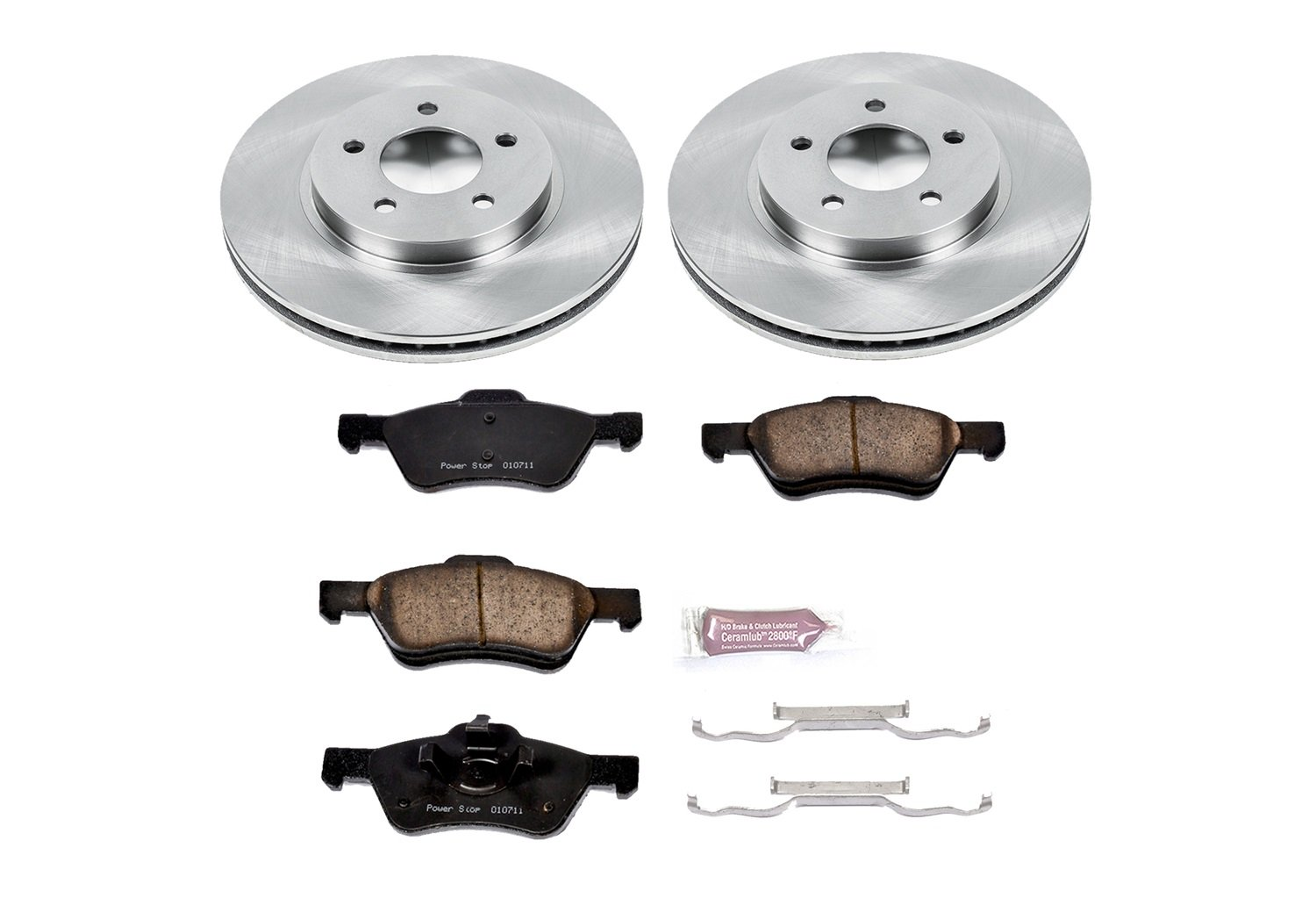 Autospecialty (KOE4580) 1-Click OE Replacement Brake Kit