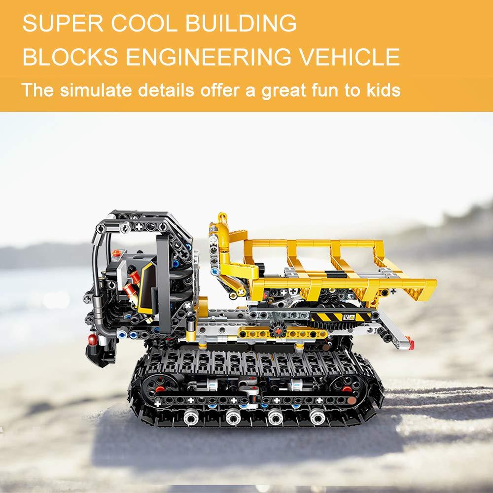 Cigooxm 774PCS Remote Control Building Blocks Car RC Track Building Blocks Educational Toys for Kids by Cigooxm (Image #3)