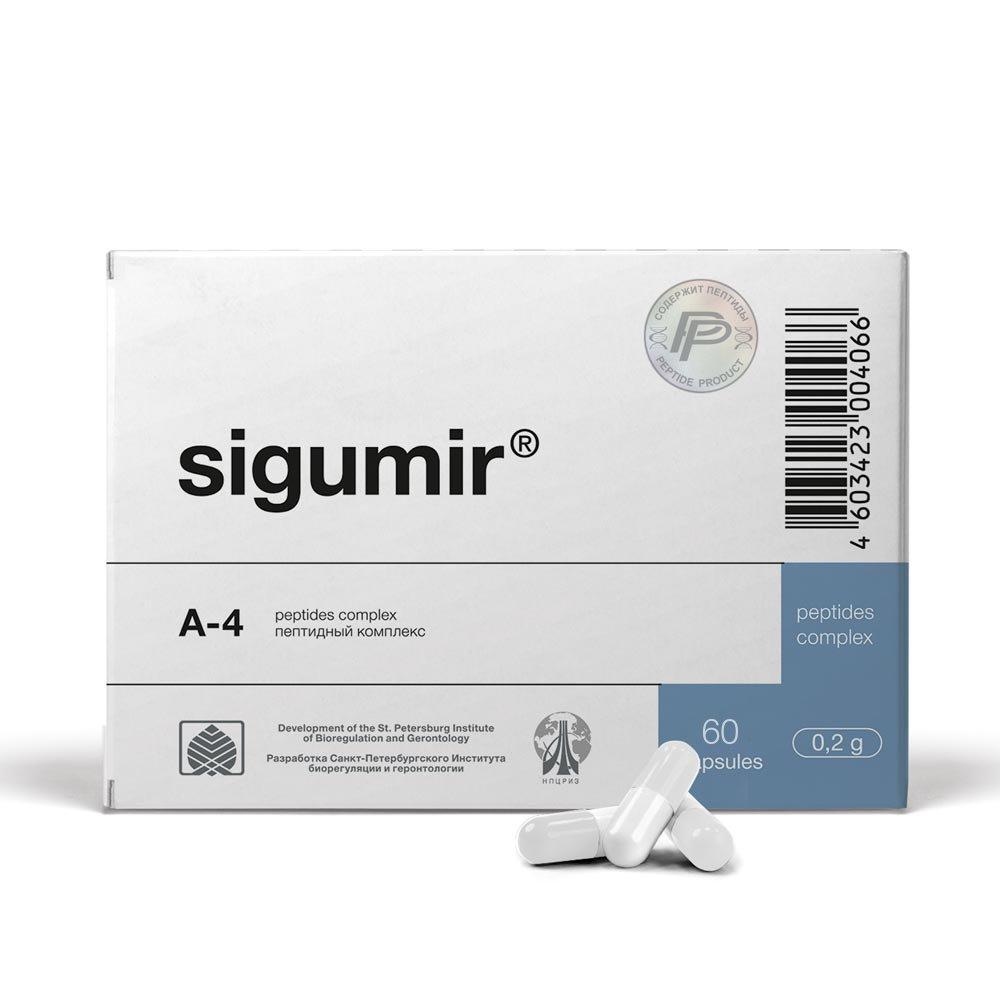 Sigumir Peptide Bioregulator 60 Capsules