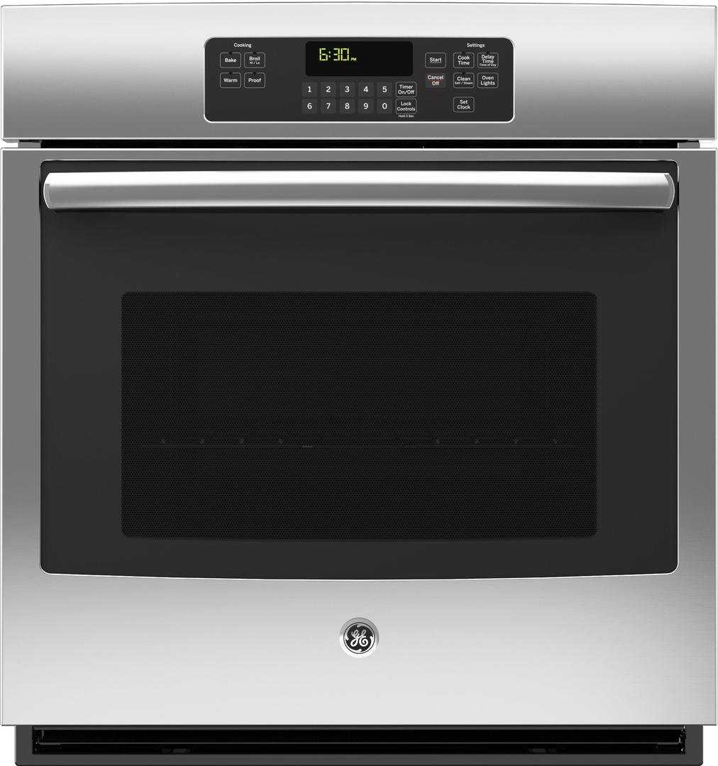 GE JK3000SFSS 27'' Stainless Steel Electric Single Wall Oven