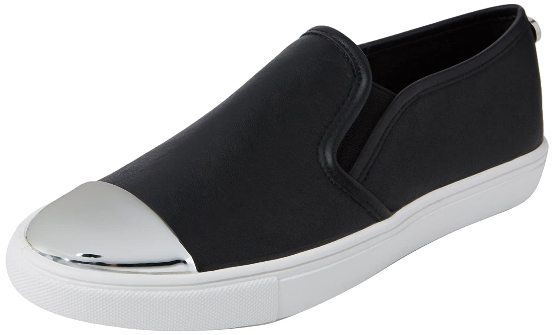 cf0f5b617cc Steve Madden Women s Eleete Slip On Low-top Sneakers Black (Black Multi) 6  UK  Buy Online at Low Prices in India - Amazon.in