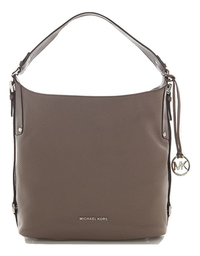 e442ed01136984 MICHAEL Michael Kors Bedford Belted Large Shoulder Bag Dark Taupe:  Amazon.ca: Shoes & Handbags