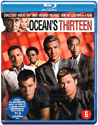 Ocean S Thirteen George Clooney Steven Soderbergh Dvd Blu Ray