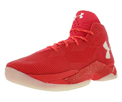 29c2e8df2490 Under Armour Mens Rocket RED-White-White 10