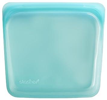 Stasher - Recipiente de silicona reutilizable de grado ...