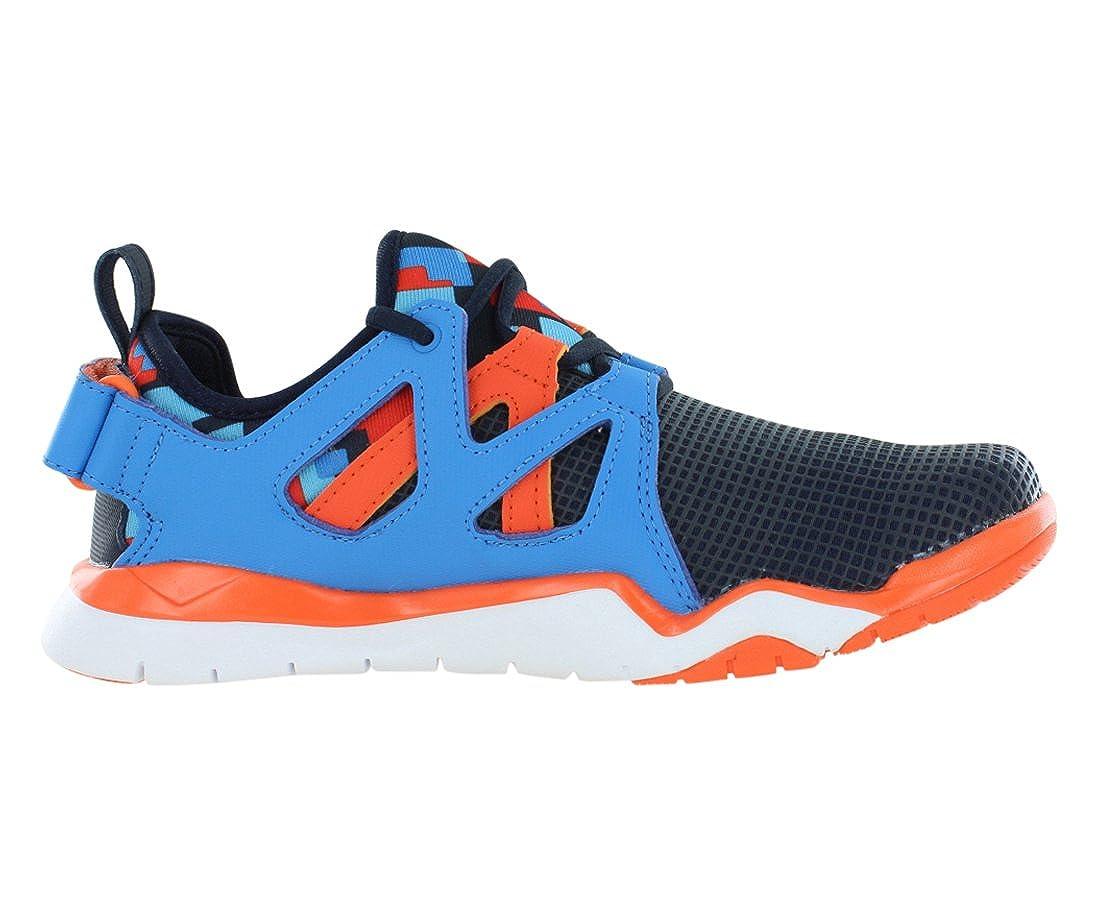 Reebok Zcut Tr Training Juniors Shoes Size 6 Navy//Blue//Orange