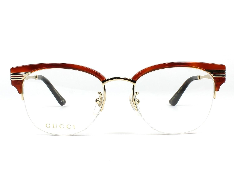 96ff4b68e3 Lunettes de vue Gucci GG 0201 O 005: Amazon.fr: Vêtements et accessoires
