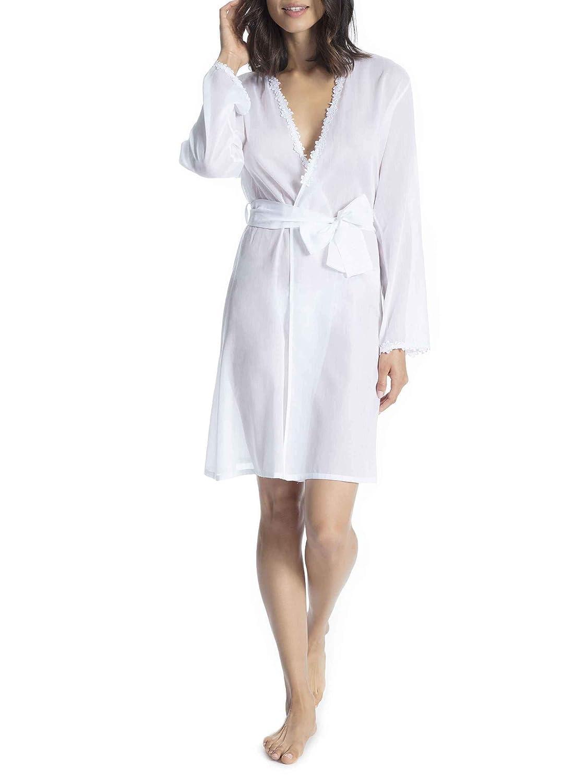 Eva B. Bitzer Bright Life Kimono, Kimono, Kimono, Länge 100cm Damen B07PPS9BDX Morgenmntel 023120
