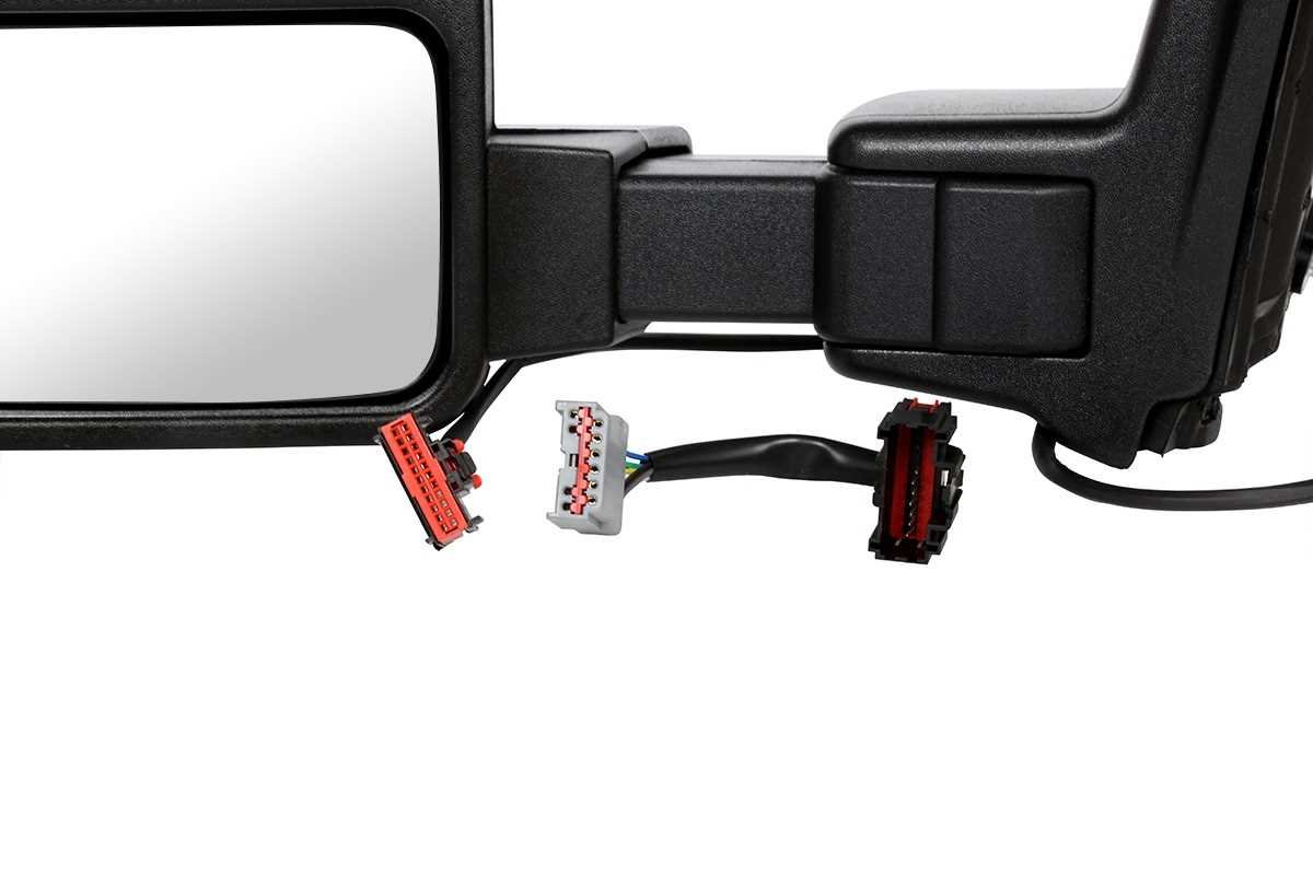 2 Prime Choice Auto Parts KAPFO1320342PR Set of Driver Passenger Power Heated Signal Mirrors