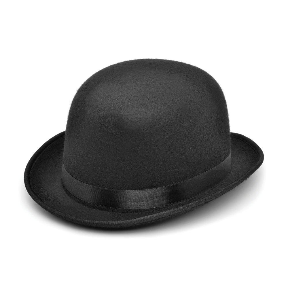f8c6406421c9a6 Bristol Novelty Bowler - Black Helt Hat. Small Hats - Men's - Small:  Amazon.ca: Toys & Games