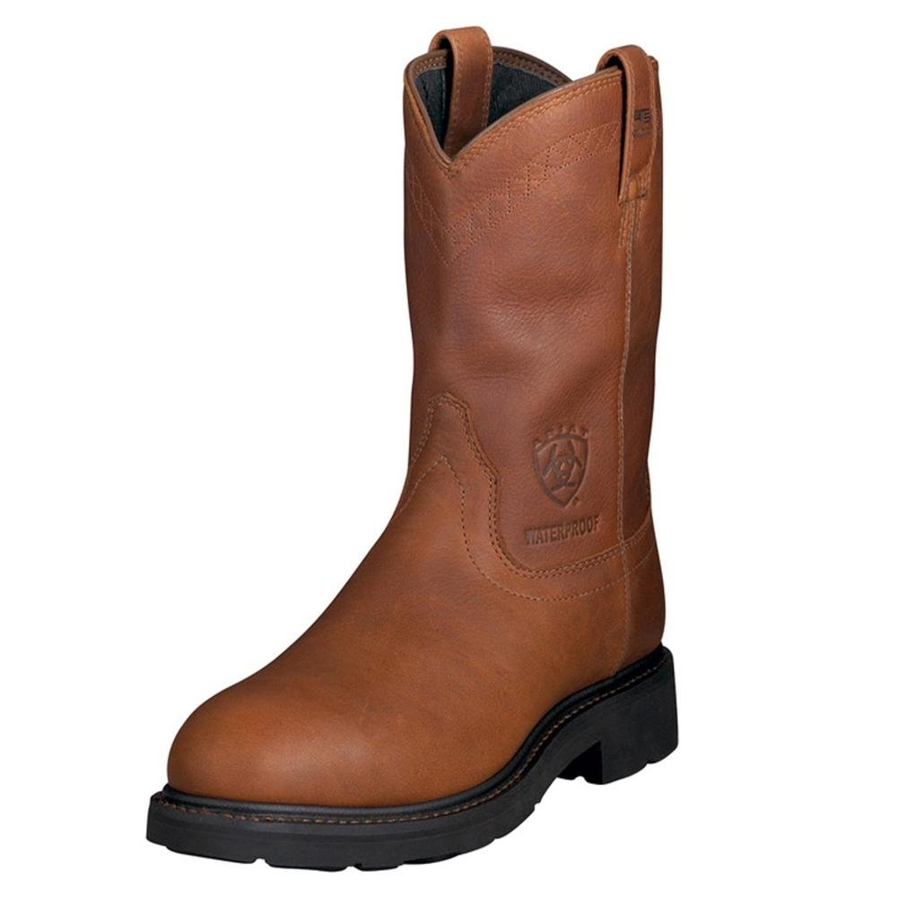 AriatメンズSierra h2o Steel Toe Western Work B0017KWFZU 11 Medium (D) US|サンシャイン(Sunshine) サンシャイン(Sunshine) 11 Medium (D) US