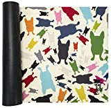 French Bull Yoga Mat – Premium Yoga Mat – 4 Color Design — Non-Slip Backing – Easy to Clean – Latex Free – Lightweight and Durable – 72″ (183cm) x 24″ (61cm), 5mm thick (Happy Terazzo) Review