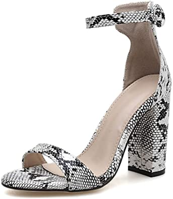 block heel open toe pumps
