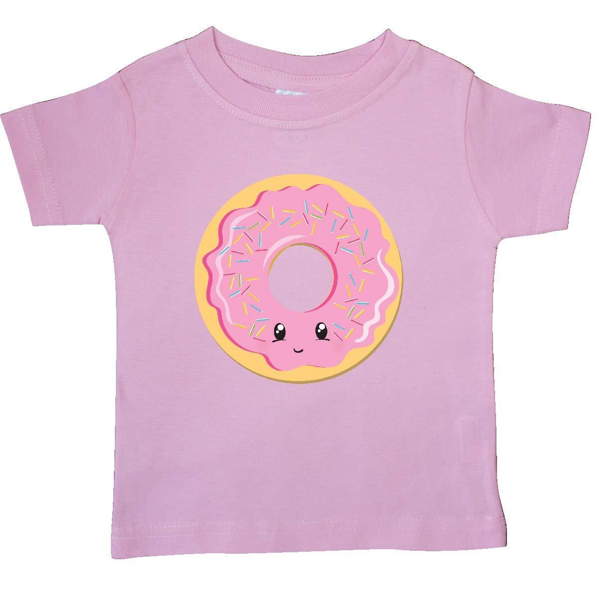 inktastic Light Pink Donut Baby T-Shirt