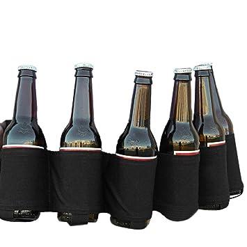 gaddrt Bier & Soda Can Holster Gürtel für 6 Getränke, schwarz ...