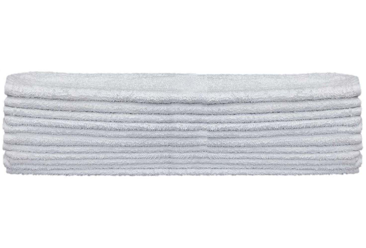 JMR Kitchen Bar Mops Cleaning Towels 12/24 Pack,16x19 Inch,Cotton,Restaurant Towels Cleaning Towels Or Home Kitchen Shop Towels and Rags (24, White)