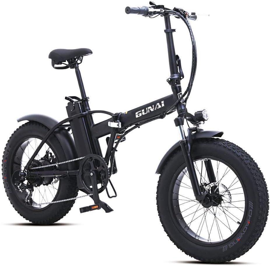 GUNAI Bicicleta Eléctrica Playa