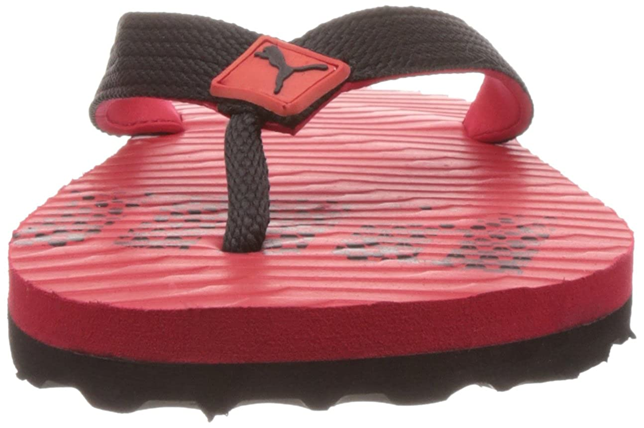 Puma Men s Miami 6 DP High Risk Red-Black Mesh Flip Flops - 10UK India  (44.5EU)  Buy Online at Low Prices in India - Amazon.in 9e94901a6
