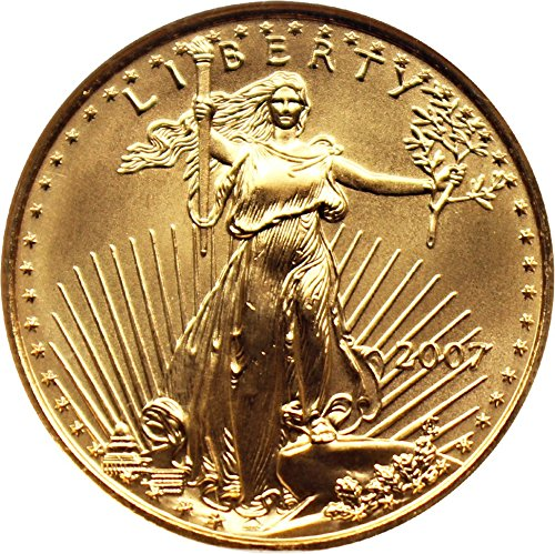 2007 P $25 American Eagles – Gold Gold Eagle Twenty Five Dollar MS69 NGC