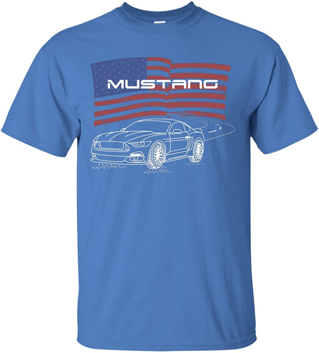 WheelSpinAddict Mens Coyote 5.0 S550 S197 Mustang Tank Top