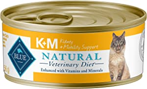 Blue Buffalo Natural Veterinary Diet Kidney + Mobility Support For Cats 5.5Oz (24-pack)