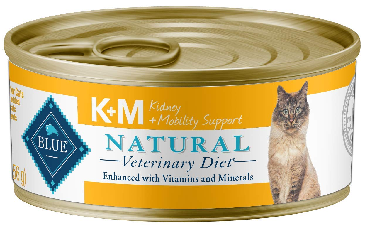 Blue Buffalo Natural Veterinary Diet Kidney + Mobility Support For Cats 5.5Oz (24-pack) by Blue Buffalo Natural Veterinary Diet