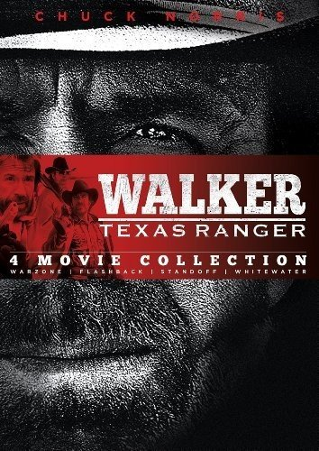 Walker Texas Ranger: Four Movie Collection: Warzone, Flashback, Standoff, Whitewater (Dvd Texas Walker)