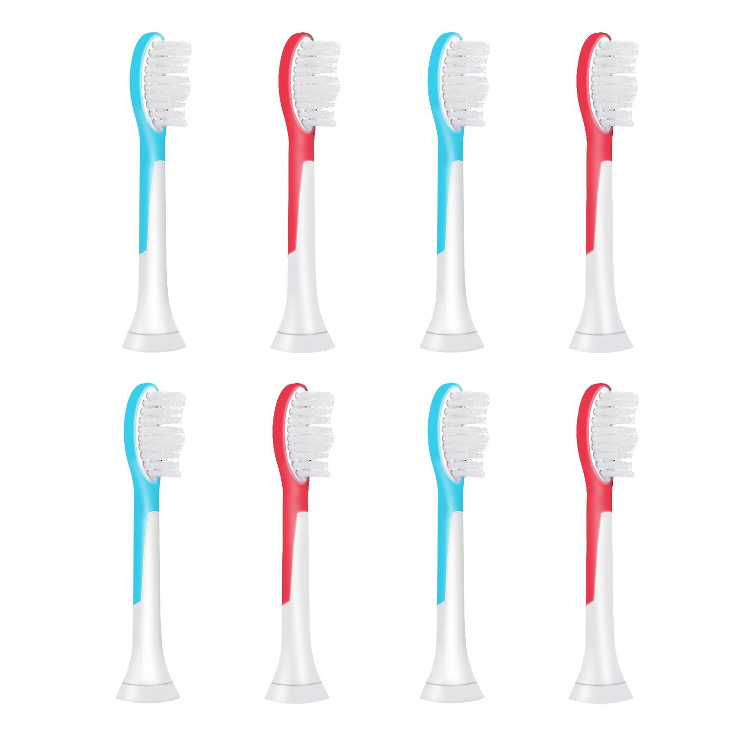 Toothbrush Head for Philips Sonicare, 8 Pack, Sonicare Kids HX6321,Replacement Brush Heads for Kids and Children Aged Over 6, High Quality 8 Pack, Sonicare Kids HX6321 VINFANY