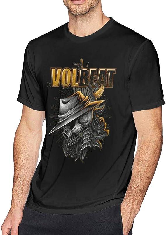 Volbeat Black Men/'s Tees Size S-3XL T-shirts