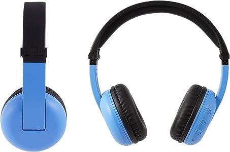 BuddyPhones PlayTime, nuevos auriculares con Bluetooth Made for Amazon, azul, para edades de 3 a 7 años
