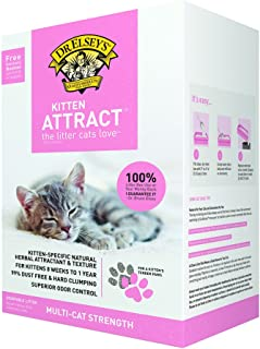 product image for Dr. Elsey's Precious Cat Kitten Attract Kitten Training Litter, Kitten Attract Litter 20lb Bo, 20 lb