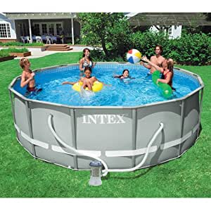 Intex 14 39 X 48 Ultra Frame Swimming Pool Baby