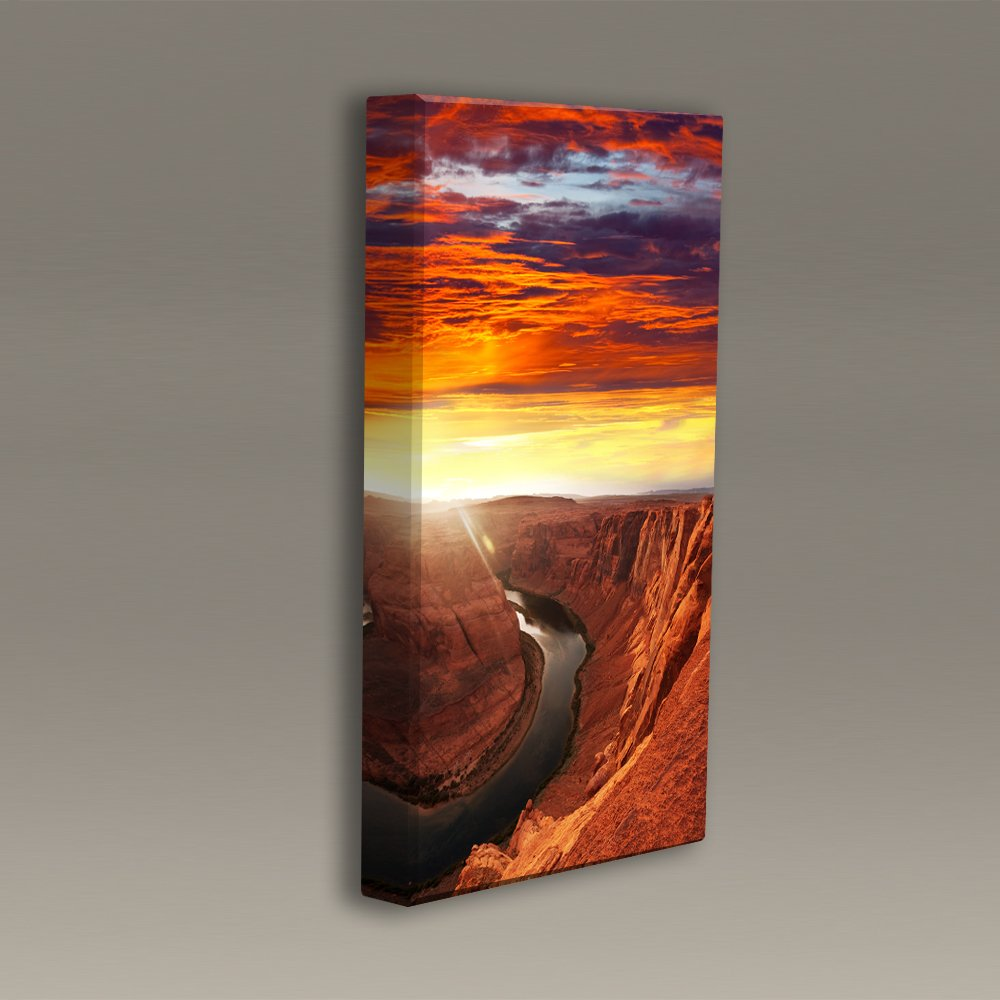 Acoustimac Acoustic sound Art Panel : 3'x2'x2'' - Canyon River