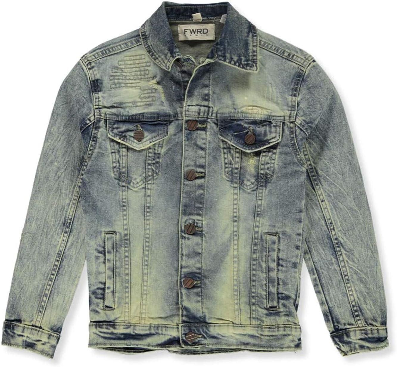 FWRD Boys Stitch Repair Denim Jacket