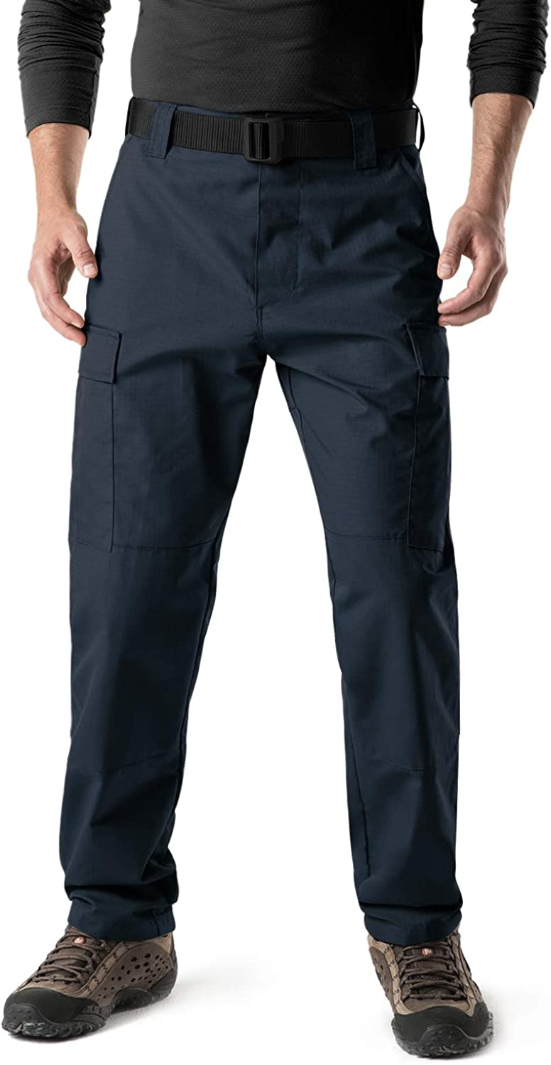 CQR Mens Rip Stop Trouser EDC Tactical Combat Pants