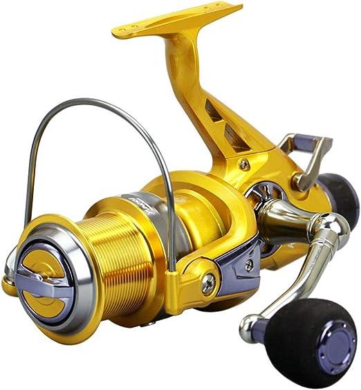 Spinning Carretes KM50 60 Frenos-carga delantera de doble cabeza ...