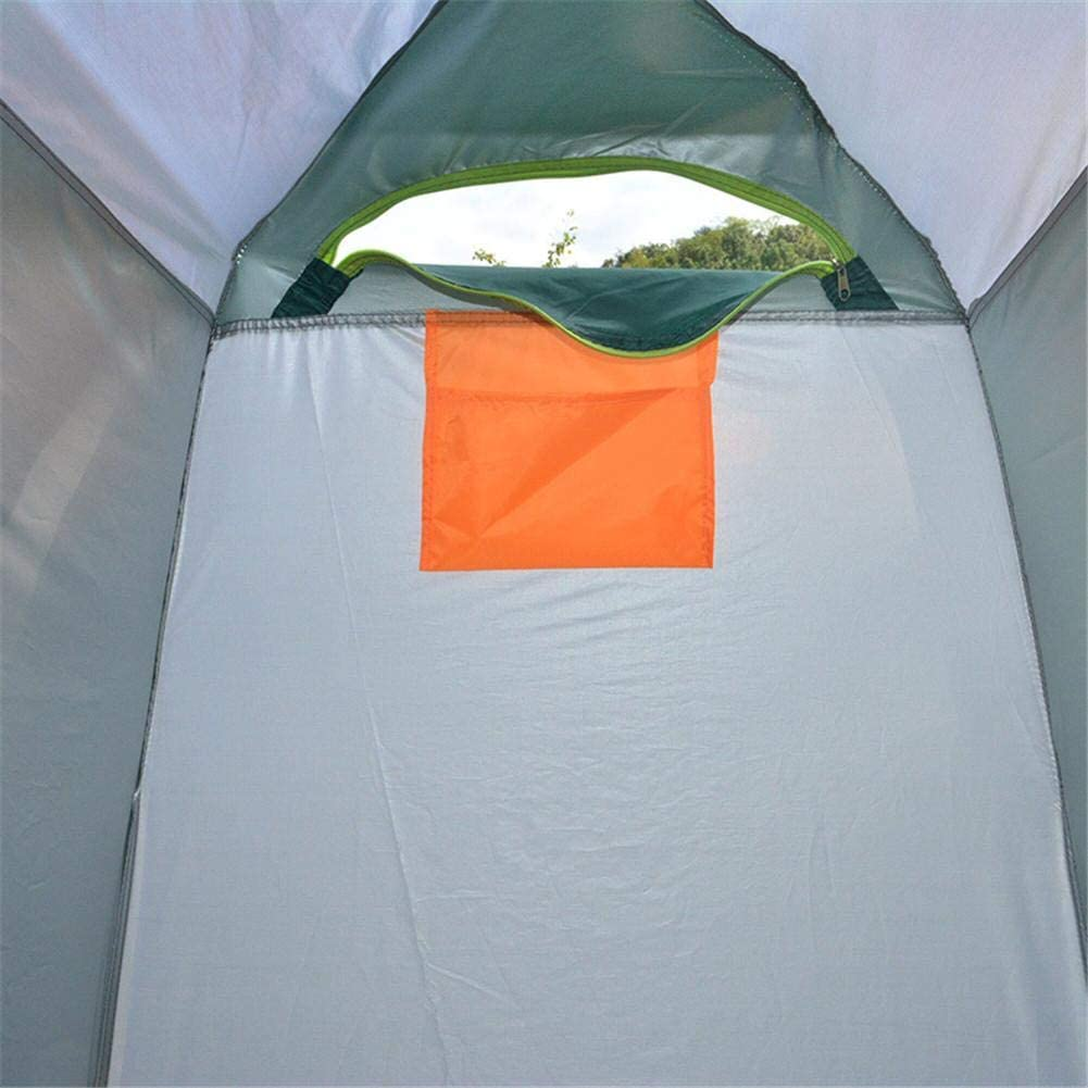 Playa Bicicleta Camping 120x120x190 cm vestidor extra/íble y Espacioso para vestirse al Aire Libre Rikey Tienda de privacidad port/átil con Ducha emergente