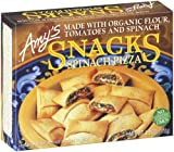 Amy's Spinach Pizza Snacks, Organic, 6-Ounce Boxes (Pack of 12)