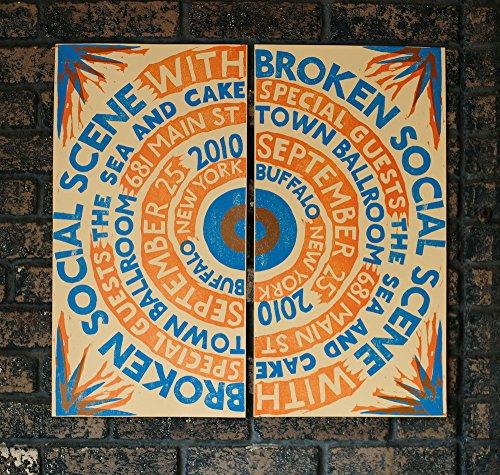 Broken Social Scene Gig Poster