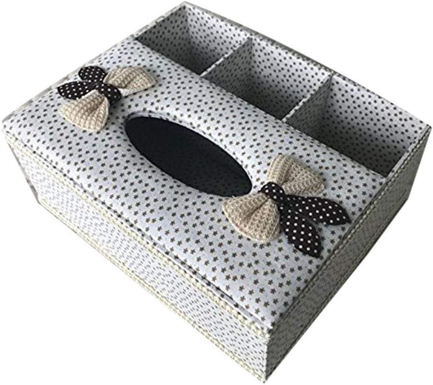 Caja de pañuelos porte-tissus cajas Design recinto almacenamiento WC cajas pañuelos cajas a recinto mueble recinto para pañuelos Kleenex caja para pañuelos de recinto a Kleenex carrée28 * 17.5 * 13 cm:
