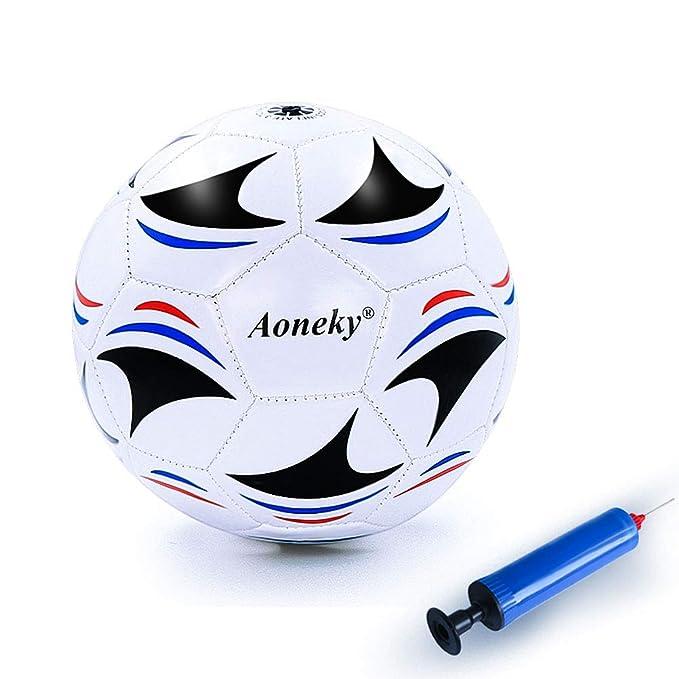 Aoneky - Balón de fútbol (tamaño Mini, para niños de 1 a 6 ...