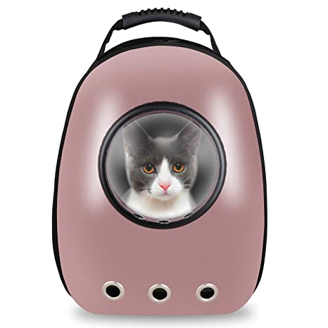 22994025fc7c Image Unavailable. Image not available for. Color  ZENY Portable Pet  Carrier Space Capsule Backpack