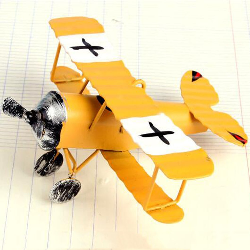 Amazon.com: Bemodst® 3pc/Lot Vintage Metal Planes Model Iron Retro ...