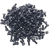 ZXHAO M5 X 10mm Socket Head Cap Screws 12.9 Grade Alloy Steel Hex Key Bolts Black 200pcs