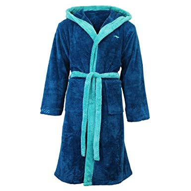 Mens Kingsize Big Size Terry Towelling Cotton Dressing Gown Bath Robe Blue  Size 3XL 4XL 5XL ... cebabfce2