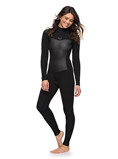 Amazon.com  Roxy Womens 5 4 3Mm Syncro Series Back Zip GBS Wetsuit ... 461a54c85